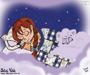 Puzle Sladké sny. Kresba Julieta Vitali