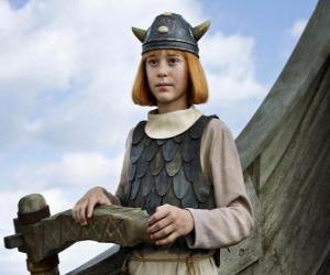 Puzle Slavný Vicky Vikingu