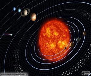 Puzle Sluneční soustava