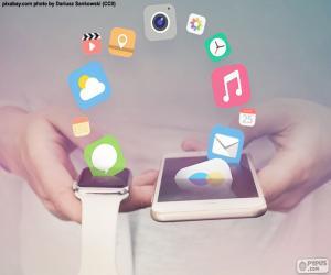 Puzle SmartWatch a smartphone
