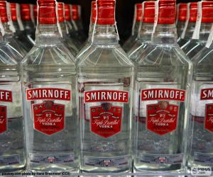 Puzle Smirnoff vodka