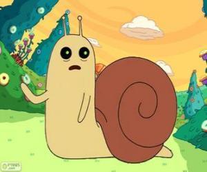 Puzle Snail, malé slimáka z Adventure Time