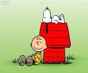 Puzle Snoopy a Charlie Brown