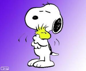 Puzle Snoopy a Woodstock