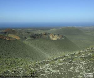 Puzle Sopečná krajina, Lanzarote