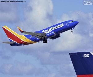 Puzle Southwest Airlines, USA