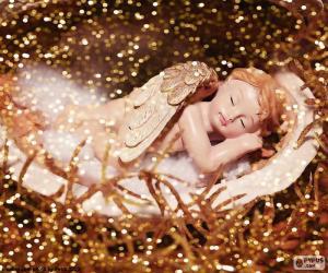 Puzle Spící anděl