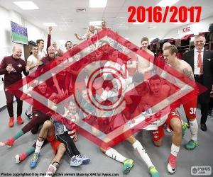 Puzle Spartak Moskva, mistr 2016-2017