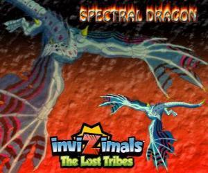 Puzle Spectral Dragon. Invizimals The Lost Tribes. Zlo invizimal, který zajišťuje snadné bojích, pokud jste stateční mají po tvém boku