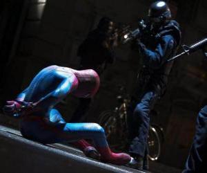 Puzle Spider-Man zajat policie