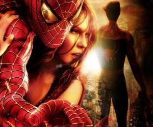 Puzle Spiderman s Mary Jane