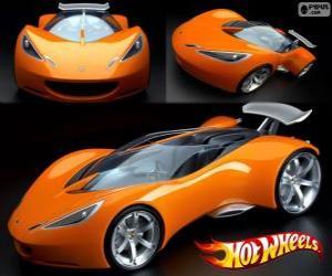 Puzle Sportovní Hot Wheels