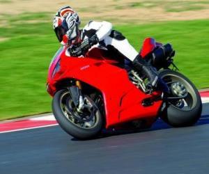 Puzle Sportovní motocykl
