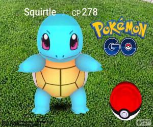 Puzle Squirtle Pokémon GO