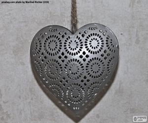 Puzle Srdce z kovu