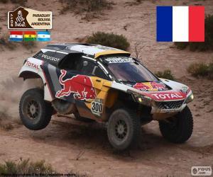 Puzle Stéphane Peterhansel, Dakar 2017