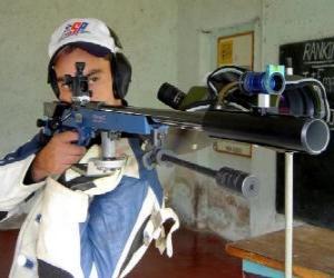 Puzle Střelec cvičit střelbu na terč