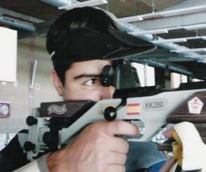 Puzle Střelecké sporty - puškové střelce v akci