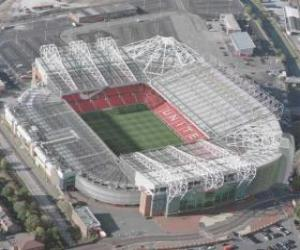 Puzle Stadion Manchester United FC - Old Trafford -