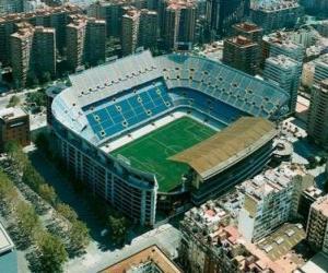 Puzle Stadion Valencia CF - Mestalla -