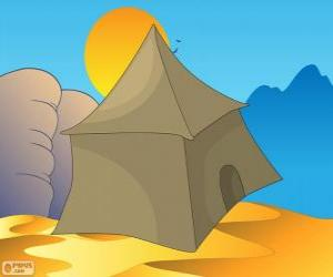 Puzle Stan beduíni v poušti, Khayma