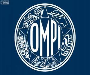 Puzle Staré logo Světové organizace duševního vlastnictví Světové organizace duševního vlastnictví