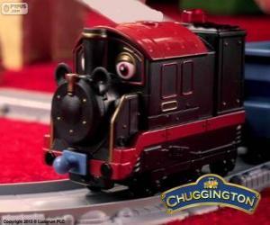 Puzle Starý Petr, parní lokomotiva je nejstarší chugger v Chuggington