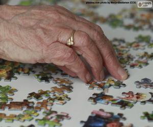 Puzle Starší osoba, puzzle