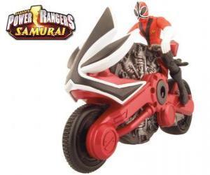 Puzle Strážce Samurai Red cyklu