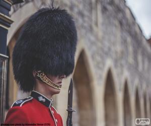 Puzle Stráže královny, Londýn