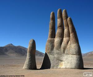 Puzle Straně pouště, Chile