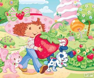 Puzle Strawberry Shortcake