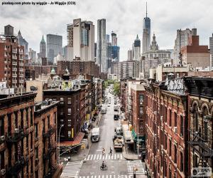 Puzle Street View v Manhattanu