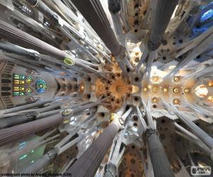Puzle Strop, Sagrada Familia, Barcelona
