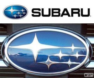 Puzle Subaru logo, japonské automobilové značce