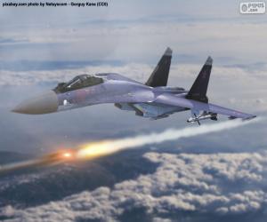 Puzle Suchoj Su-35