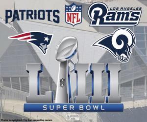 Puzle Super Bowl 2019