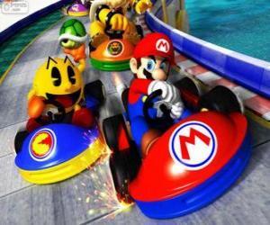 Puzle Super Mario Kart