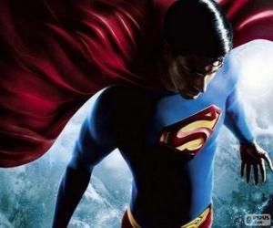 Puzle Superman, jeden z nejslavnějších superhrdinové