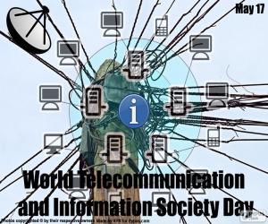 Puzle Svět telekomunikací a informační společnosti den