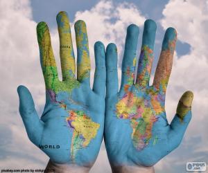 Puzle Svět v našich rukou