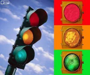 Puzle Světelné signalizační zařízení
