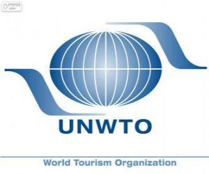 Puzle Světová organizace cestovního ruchu UNWTO logo
