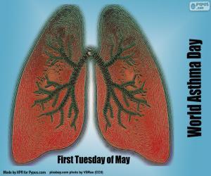 Puzle Světový den astmatu