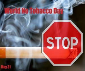 Puzle Světový den bez tabáku