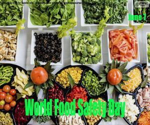 Puzle Světový den bezpečnosti potravin