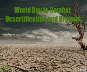 Puzle Světový den boje proti rozšiřování pouští
