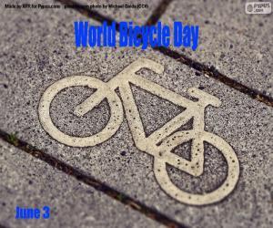 Puzle Světový den jízdních kol