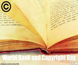 Puzle Světový den knihy a autorského práva