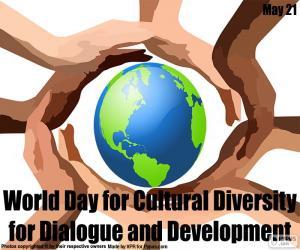 Puzle Světový den kulturní diverzity pro dialog a rozvoj